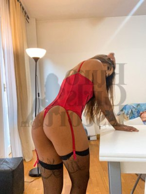 Crystalle nuru massage